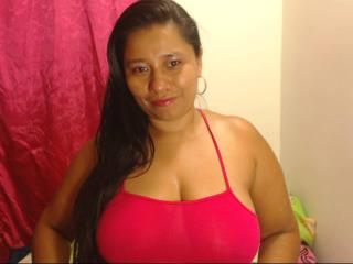 Photo de profil sexy du modèle KatthyBabe, pour un live show webcam très hot !