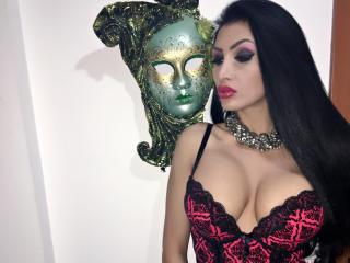 Photo de profil sexy du modèle LizzyAnne, pour un live show webcam très hot !