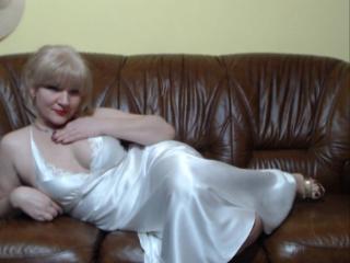 Foto de perfil sexy da modelo Jasmina, para um live show muito quente!