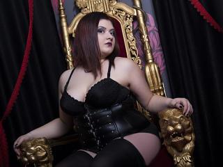 Photo de profil sexy du modèle QueenofDamned, pour un live show webcam très hot !