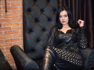 Photo de profil sexy du modèle GodessHotMistress, pour un live show webcam très hot !