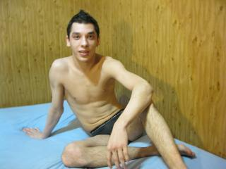 Picture of the sexy profile of Aldwin, for a very hot webcam live show !
