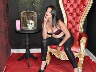 Photo de profil sexy du modèle NaughtyPandora, pour un live show webcam très hot !