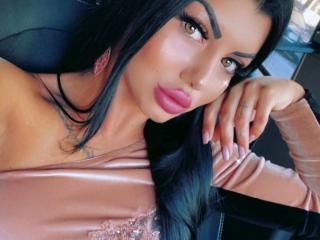 Sexet profilfoto af model MichelleSquirts, til meget hot live show webcam!