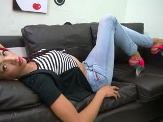 Photo de profil sexy du modèle NaughtyxDiva, pour un live show webcam très hot !