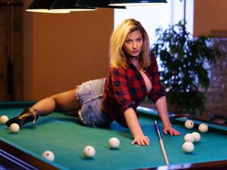 Sexy Profilfoto des Models SpacyXJill, für eine sehr heiße Liveshow per Webcam!