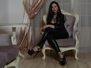 Picture of the sexy profile of MisstressDevina, for a very hot webcam live show !