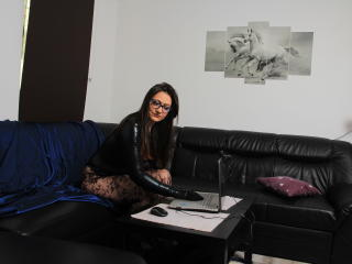 Sexet profilfoto af model RachelKiss, til meget hot live show webcam!