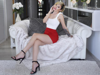 Sexet profilfoto af model RebecaMavis, til meget hot live show webcam!